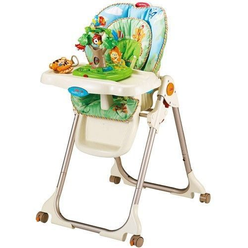Portable Baby High Chair Space Saver Toddler Kids Booster