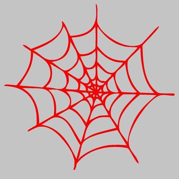 Spiderman Web Superhero Wall Sticker Decal 12 X