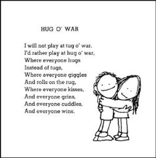 """HUG O' WAR"" from ""Where the Sidewalk Ends"""