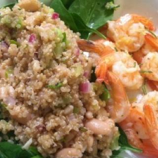 Shrimp quinoa   health   Pinterest