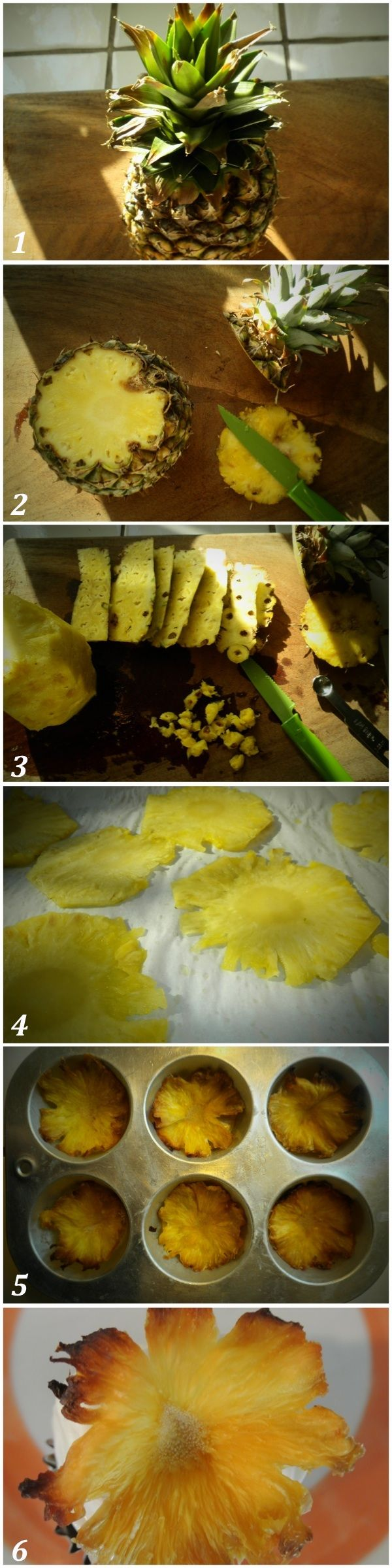 dried pineapple flowers recipe. | Recipeasy-Lemon-Squeezy | Pinterest
