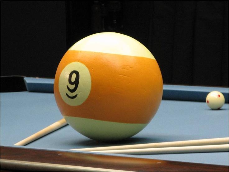 9 ball billard