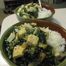 Saag Tofu (Indian Tofu With Spinach) | Healthy | Pinterest