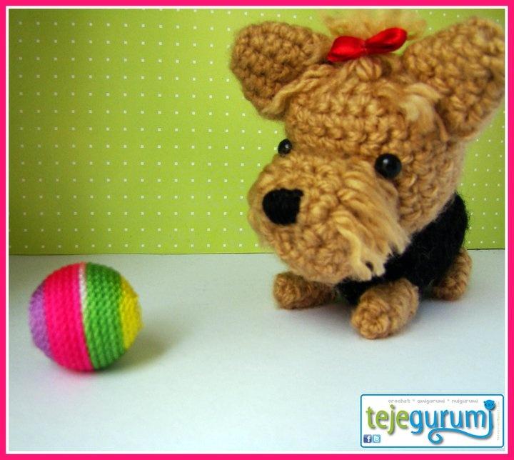 Amigurumi Crochet Yorkie : Dulce Yorkshire Terrier crochet/amigurumi Pinterest