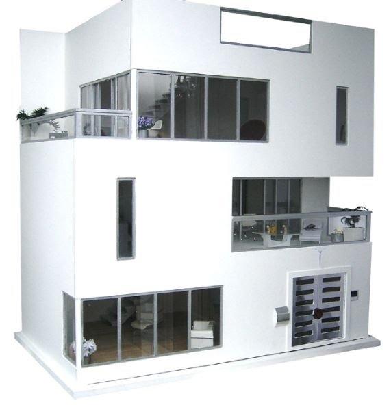 Modern Dollhouse Dollhouse Pinterest