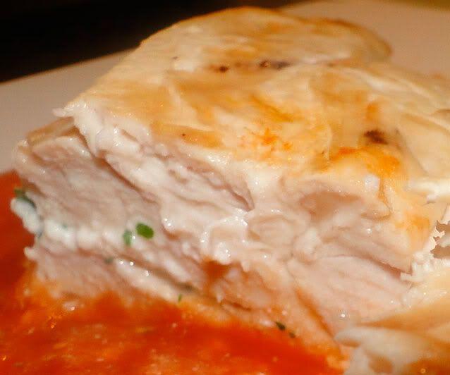 Ricotta Stuffed Chicken | food | Pinterest