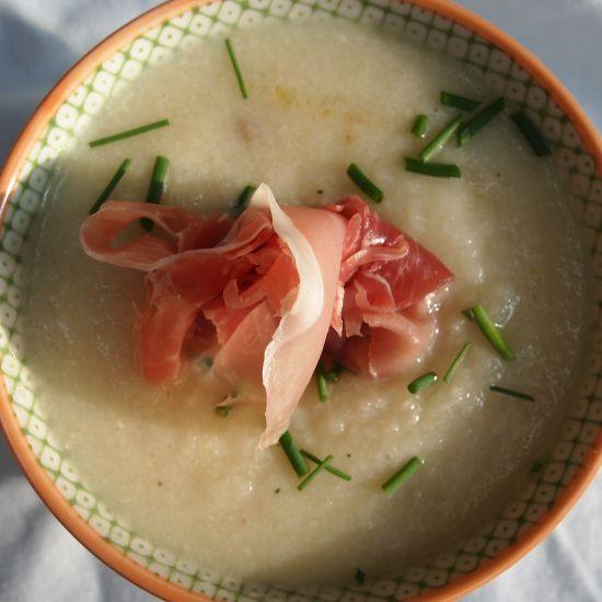 Caramelized onion Cauliflower Soup #vegetarian #vegan #soup # ...