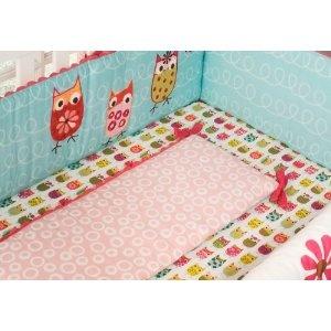 Owl crib sheets