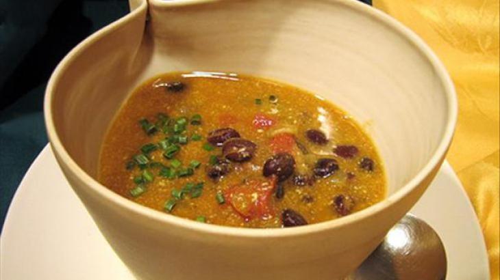 Pumpkin Black Bean Soup   A Yummy Soup   Pinterest