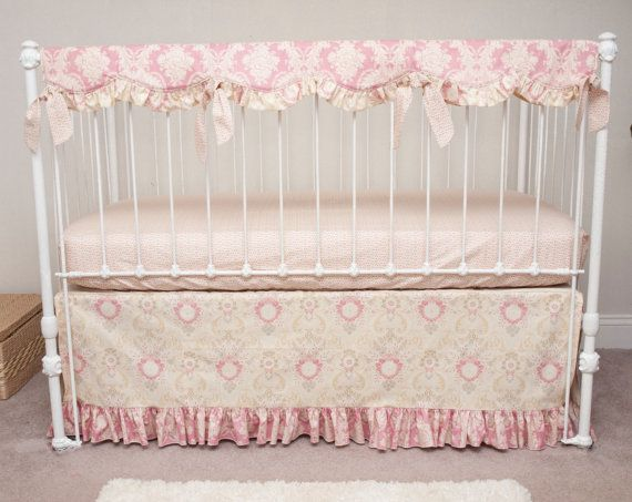 Vintage Baby Girl Cot Bedding
