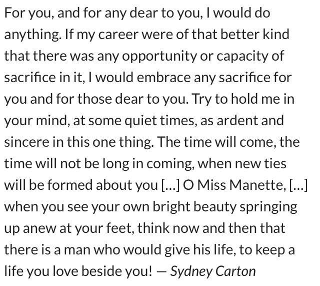 Sydney Carton Essay