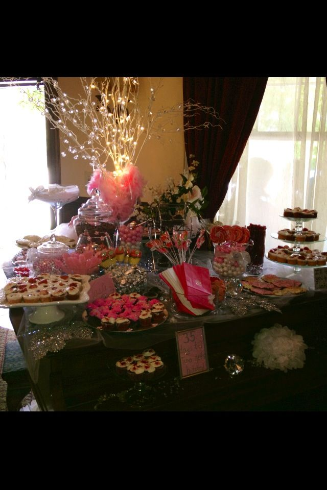 candy bar on piano from my sister party. Created by my aunt and I