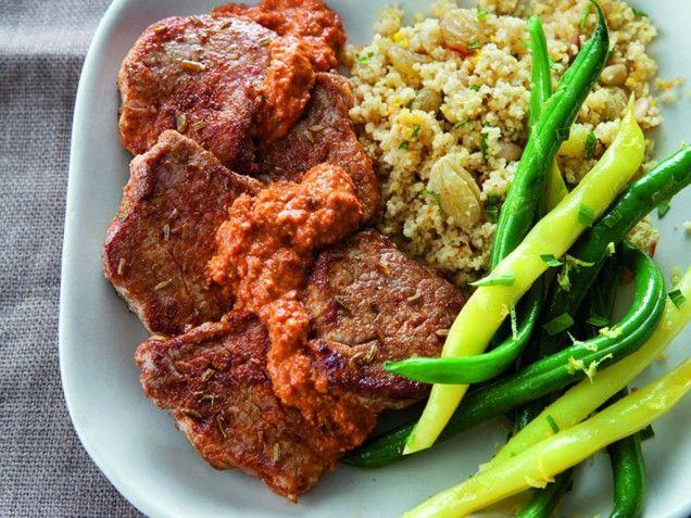 ... romesco sauce recipe pork sandwich with romesco sauce recipe dishmaps