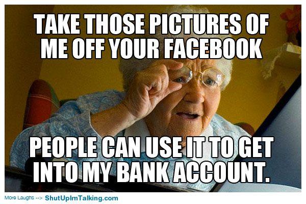 Grandmothers.. haha shutupimtalking.com is the best!