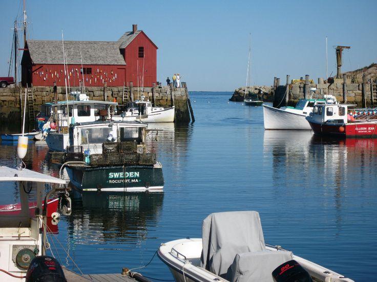 Rockport Harbor #massachusetts #travel Photo Credit: Tim Grafft