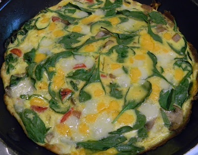 Double Cheddar and Vegetable Frittata | Food and Drink | Pinterest