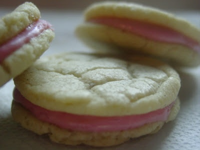 Raspberry Cream Sandwich Cookies | Recipes | Pinterest