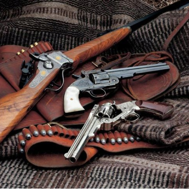 98 best art - western images on Pinterest | Firearms, Shotguns and ...