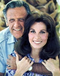 William Holden and Stephanie Powers