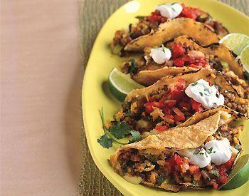 Chorizo and Scrambled Egg Breakfast Tacos Recipe