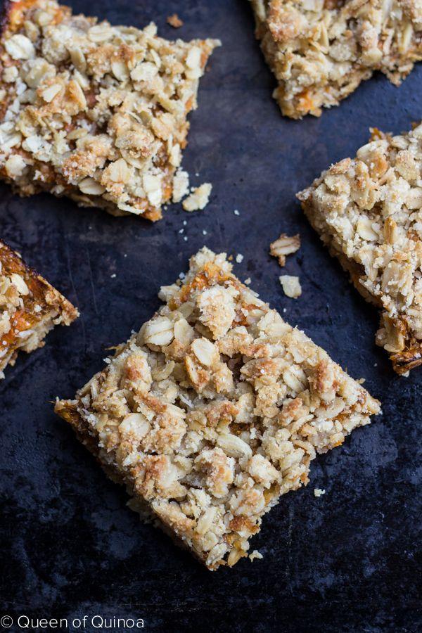Gluten-Free Apricot Oatmeal Bars | Gluten-free Goodness | Pinterest