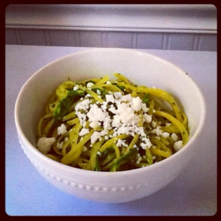 Linguine With Lemon, Feta, And Basil Recipes — Dishmaps