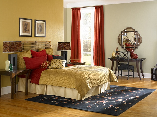Asian Theme Bedroom Beautiful Interiors And Decor