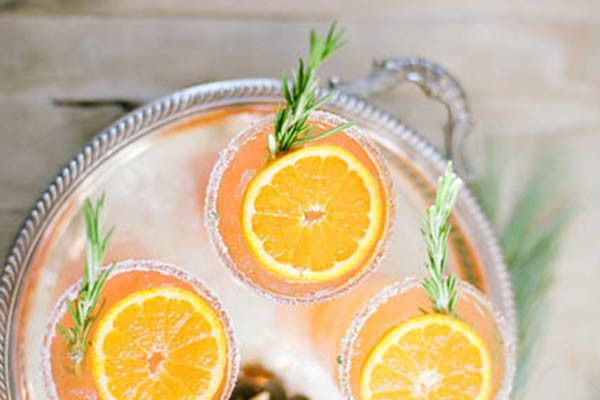 Rosemary tangerine cooler | Sous Style | I'll Have Another | Pinterest