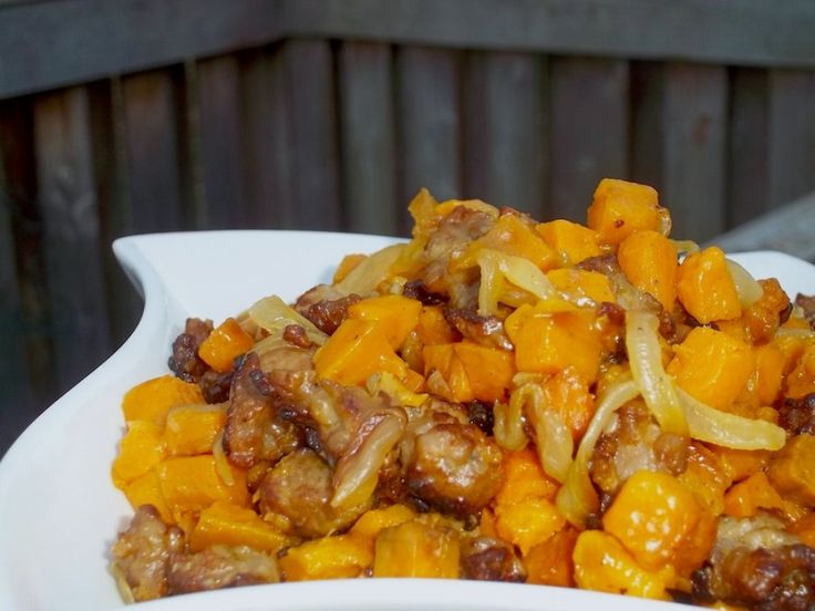 Sweet Potato and Sausage Hash Recipe | Main Dishes | Pinterest