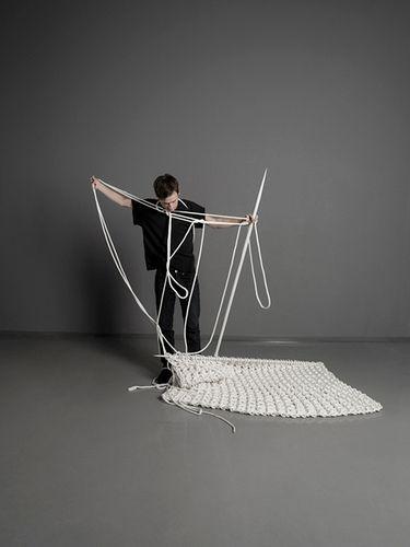 Giant rugs by Sebastian Schoenheit