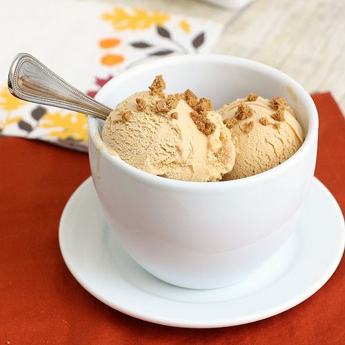Pumpkin Pie Ice Cream | For The Love of Ice Cream | Pinterest