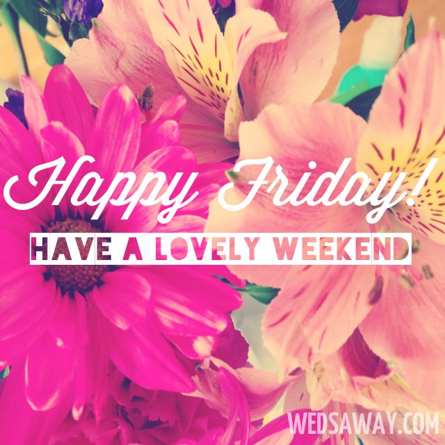 Happy Friday ,have a lovely weekend,xo  Stay Positive #Quotes: http://www.pinterest.com/newdirectionsbh/stay-positive/