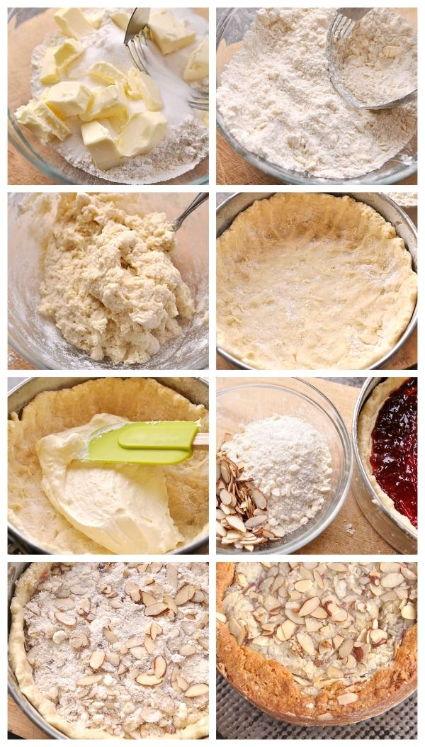 Raspberry Cream Cheese Coffee Cake Recipe — Dishmaps