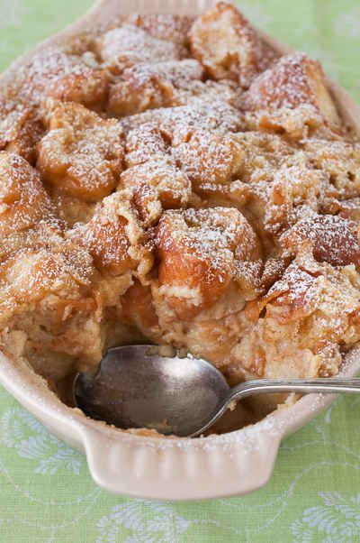 Glazed Donut Bread Pudding | 24 Ways To Eat Bread Pudding All Day