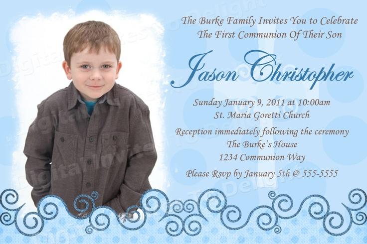 First Holy Communion Invitations is beautiful invitation ideas