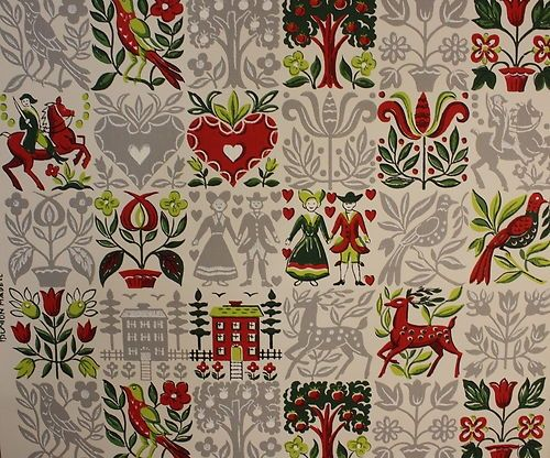 Vintage Kitchen Wallpaper | Home Away from Home | Pinterest