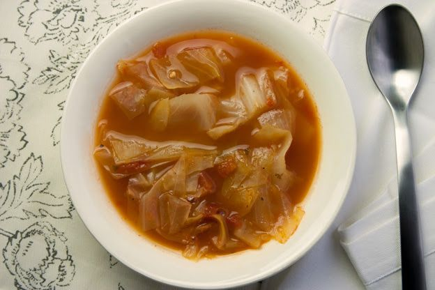 Healing Cabbage Soup | recipes | Pinterest