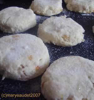 Apricot and White Chocolate Scones | Recipe