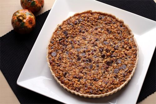 Chocolate Hazelnut Tart. | The Jey of Cooking.