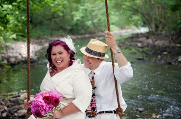 Swing The Colors Their Head Wear Vow Renewal Ideas Pinterest