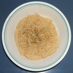 Basic Hummus - 2 cans garbanzo beans (one drained, one not), 1/4 cup ...