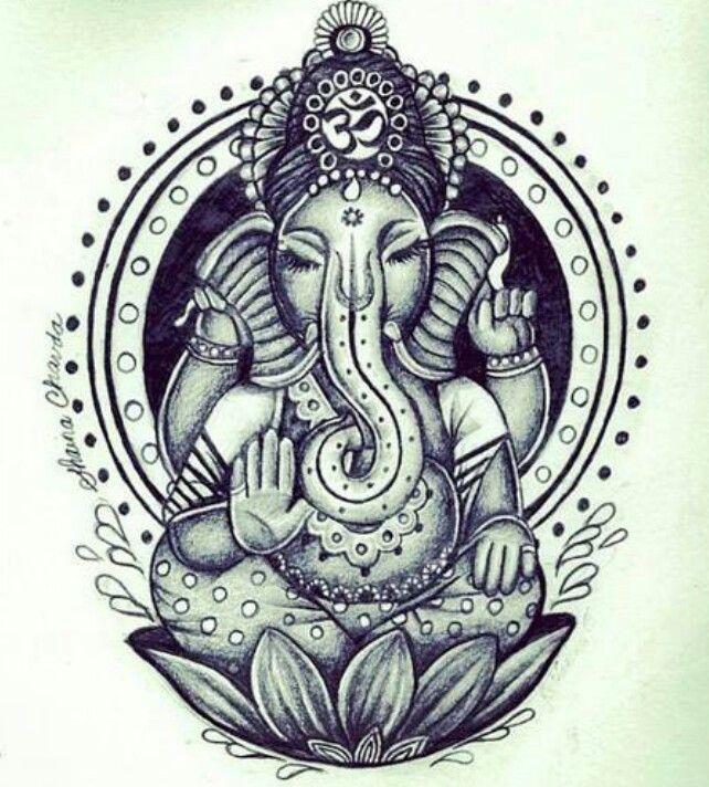 Ganesha draw | Stuff | Pinterest