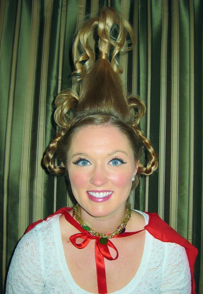 Cindy lou who hair for sam pinterest