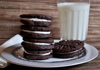 Homemade Oreo Cookies | Dessert | Pinterest