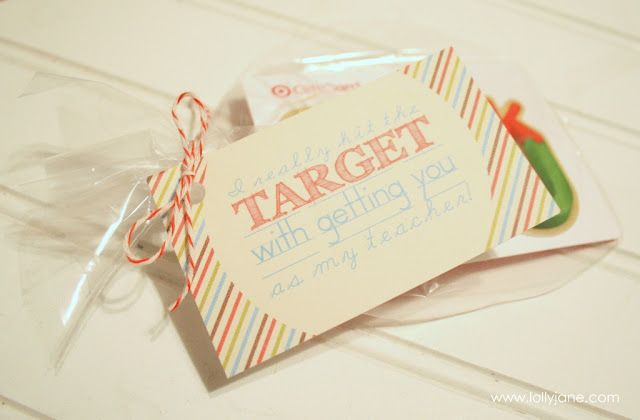 Free printable Teacher tags from @Lolly Jane!