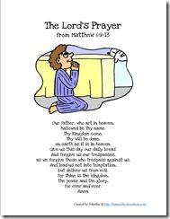 Pledge of Allegiance & The Lord's Prayer printables