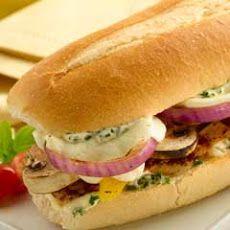 Mediterranean Sandwich | Sandwiches | Pinterest