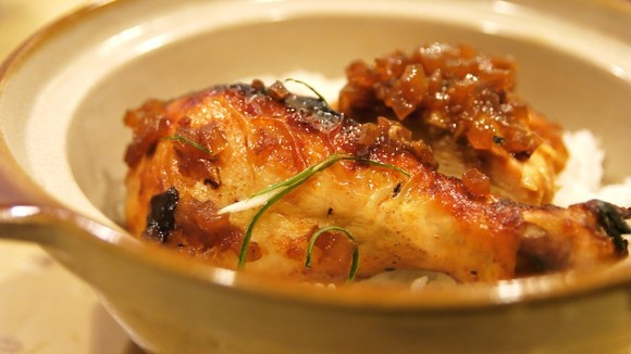 roast chicken with shoyu onion sauce recipe on food52 misoyaki roast ...