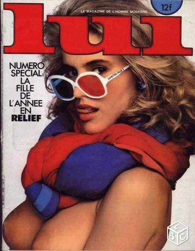 Revue Lui n°228 avec Sophie Favier nue en relief | Playboy ...