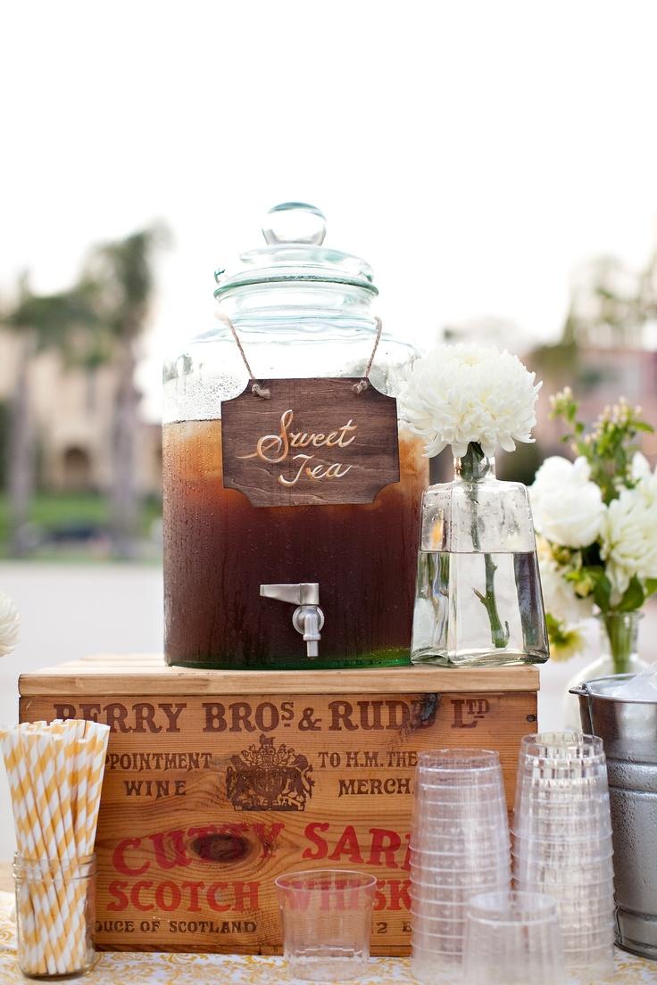 Southern sweet tea.   Southern Charm   Pinterest